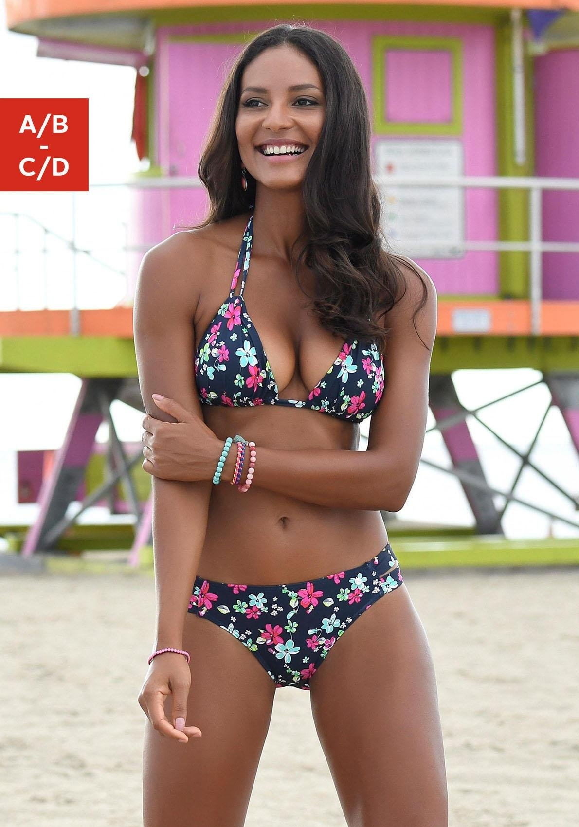s.Oliver Beachwear s.Oliver RED LABEL Beachwear triangeltop »Valencia« bij OTTO online kopen