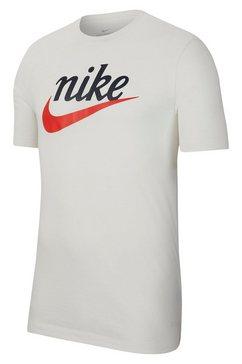 nike sportswear t-shirt »nike sportswear heritage men's t-shirt« beige
