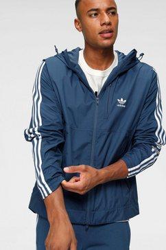adidas originals windbreaker »lcok up windbreaker« blauw