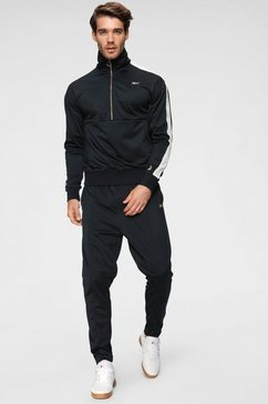 reebok trainingspak »cbt connor mcgregor track suit« (set, 2 tlg.) schwarz