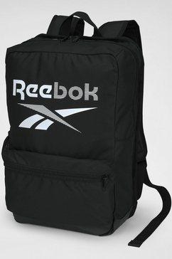 reebok sportrugzak »te m backpack« zwart