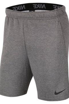 nike trainingsshort »nike dri-fit men's fleece training shorts« grijs