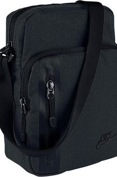 nike sportswear schoudertas »nike tech small items bag« zwart
