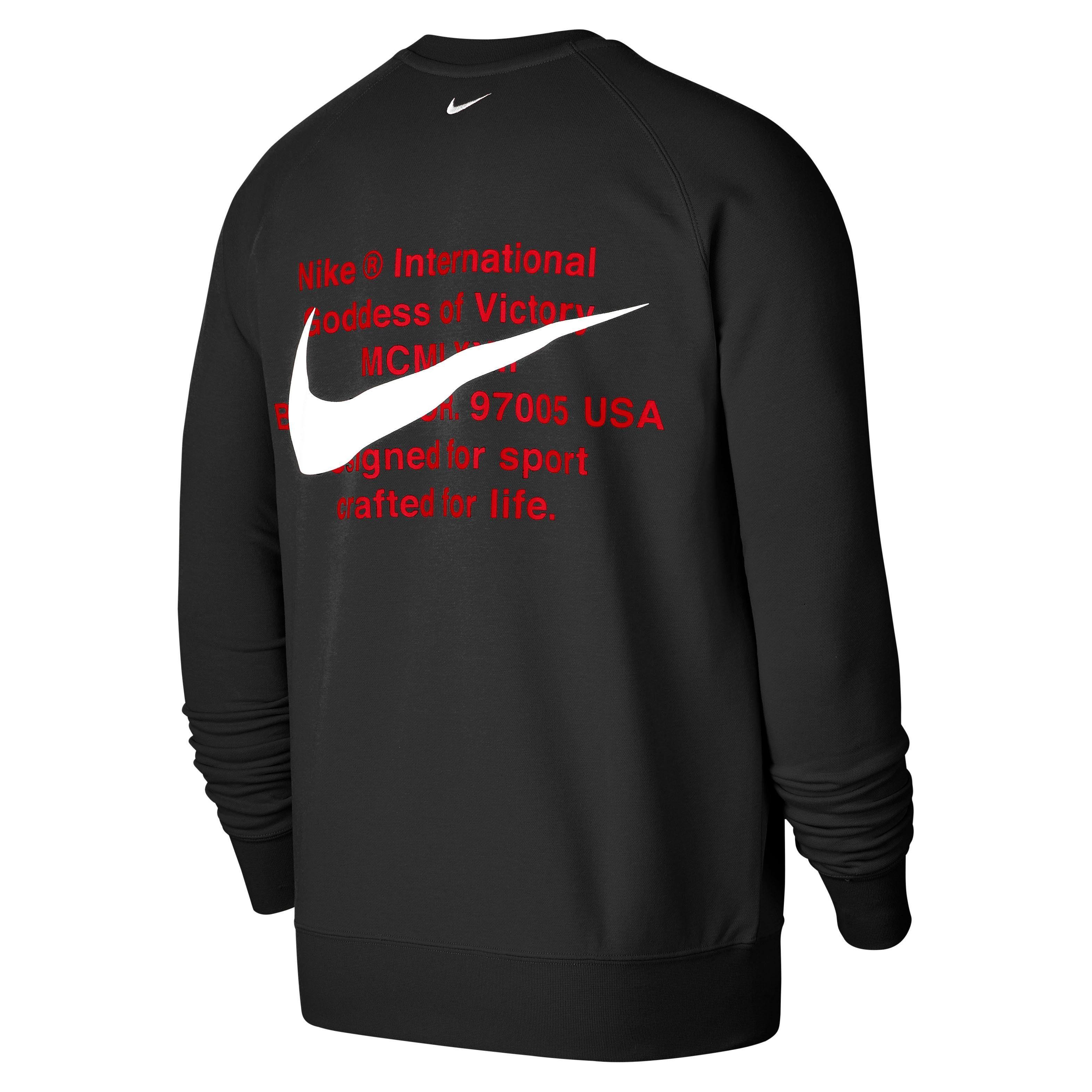 Sportswear sweatshirt »Nike Sportswear Swoosh Men's French Terry Crew«