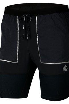 """nike runningshort »nike men's 7"""" running shorts« zwart"""