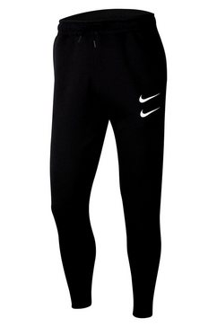 nike sportswear joggingbroek »nike sportswear swoosh men's pants« zwart
