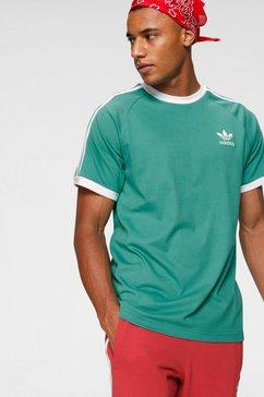 adidas originals t-shirt »3-stripes tee« groen