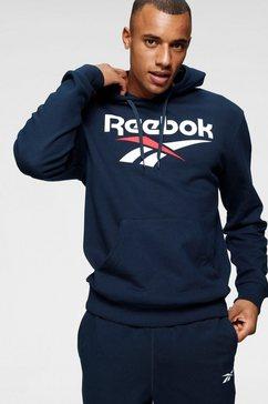 reebok classic hoodie »cl f vector hoodie« blauw