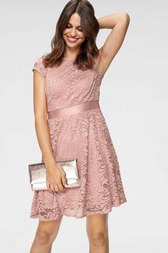laura scott kanten jurk roze