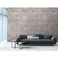 grandeco tapete vliesbehang »beton-look«, 1 rol á 3 banen 159 cm x 280 cm grijs
