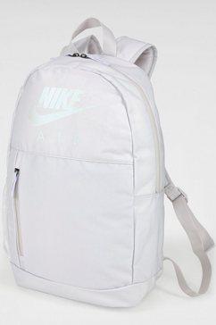 nike sportswear sportrugzak »youth nike elemental backpack« grijs