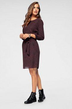 jacqueline de yong gedessineerde jurk »nikky« zwart