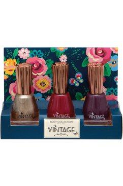 nagellakset 'vintage nail set' blauw