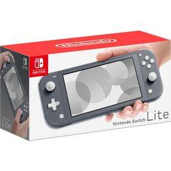 nintendo switch console lite grijs