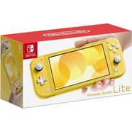 nintendo switch console lite geel