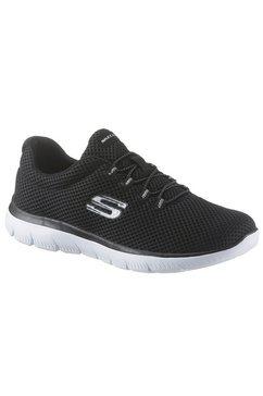 skechers slip-on sneakers »summits« zwart