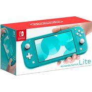 nintendo switch console lite blauw