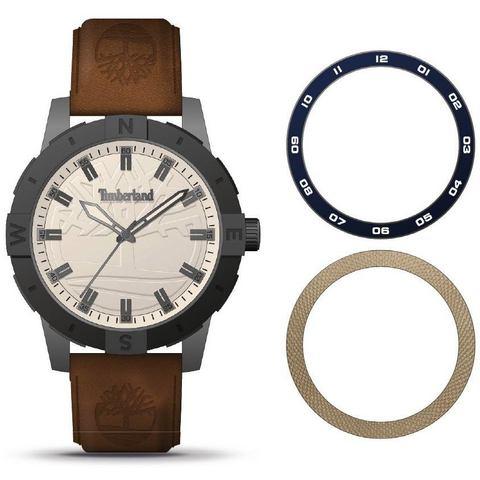 NU 20% KORTING: Timberland kwartshorloge MAYBURY, TBL15949JSUB.63SET (3-dlg. set, horloge met extra