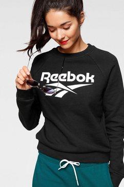 reebok classic sweatshirt »cl f big vector cre« zwart