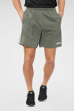 adidas short »e 3 stripes chelsea« groen