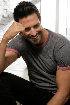 s.oliver bodywear t-shirt grijs