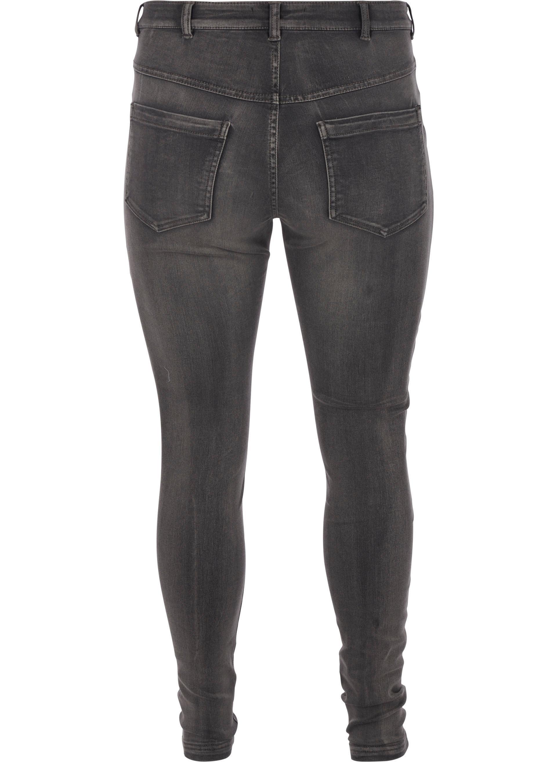 Zizzi slim fit jeans »Amy« veilig op otto.nl kopen