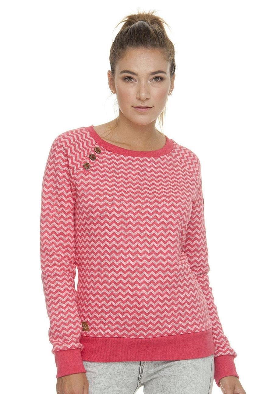 Ragwear sweatshirt »DARIA ZIG ZAG E« in de webshop van OTTO kopen