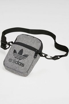 adidas originals schoudertas »mel fest bag« grijs