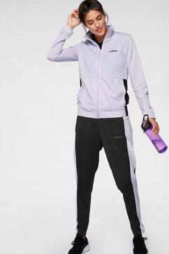 adidas trainingspak »tracksuit« (set, 2 tlg.) paars
