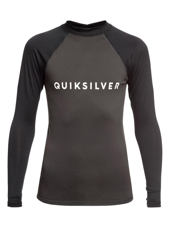 Quiksilver - Always There - Rash Vest met Lange Mouwen en UPF 50 voor Jongens 8-16 voordelig en veilig online kopen