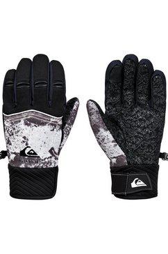 quiksilver snowboardhandschoenen »method« zwart