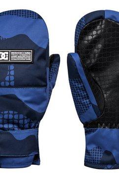 dc shoes ski-snowboard handschoenen »franchise« blauw