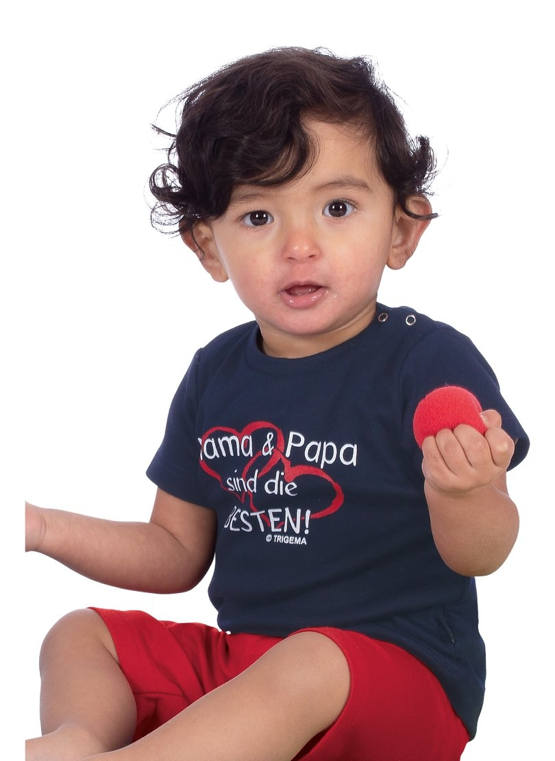 Trigema T-shirt Mama & Papa - verschillende betaalmethodes