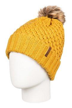 roxy beanie »blizzard« geel