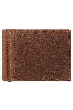 sansibar portemonnee bruin