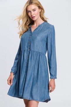 edc by esprit jeansjurk blauw