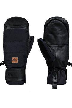 quiksilver »squad« snowboardhandschoenen zwart
