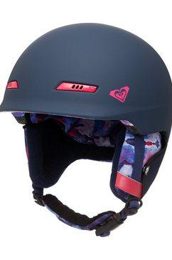 roxy snowboardhelm »angie« blauw