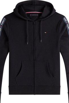 tommy hilfiger hoodie zwart