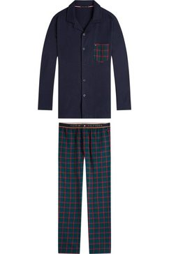 tommy hilfiger pyjama »tommy hilfiger« (2-tlg.) blauw