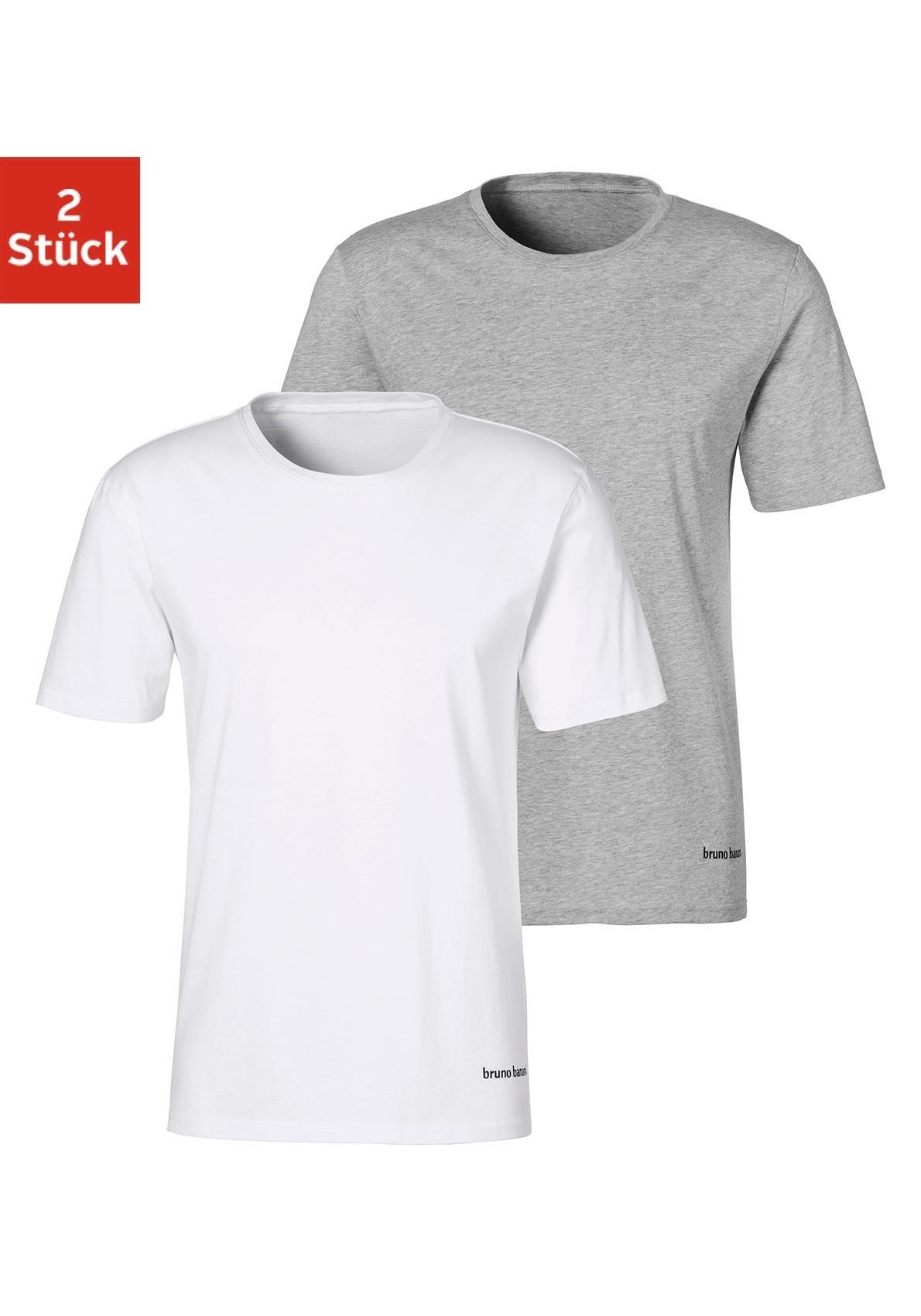 Bruno Banani T-shirt (set van 2) nu online kopen bij OTTO