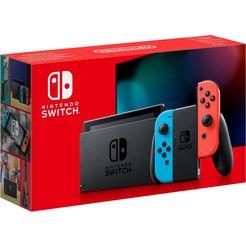 nintendo switch console multicolor