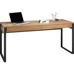 places of style bureau moid breedte 160 cm beige