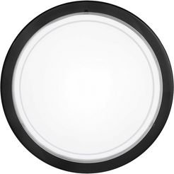 eglo plafondlamp »planet 1«, zwart