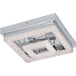 eglo led-plafondlamp »fradelo«, zilver