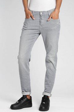 gang relax fit jeans »gerda« grijs