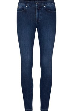calvin klein skinny fit jeans »blue skinny ankle jean« blauw