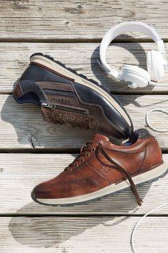 bugatti sneakers »stranger« bruin