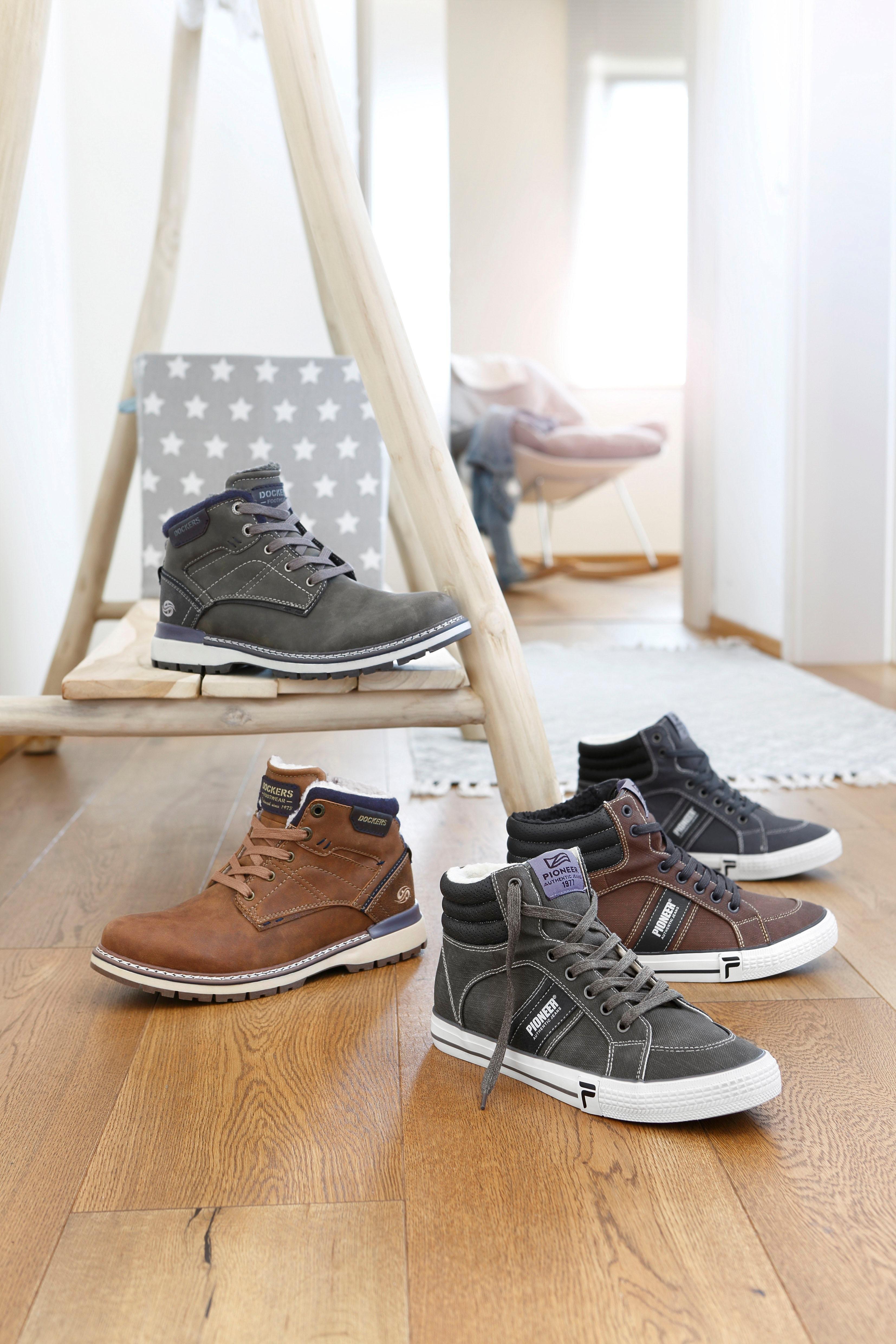 Op zoek naar een Dockers by Gerli hoge veterschoenen? Koop online bij OTTO