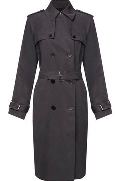 calvin klein trenchcoat »transseasonal ls trench coat« grijs